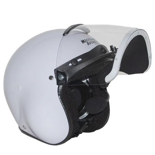 Microavionics MM001B Helmet with UL-100 Headset