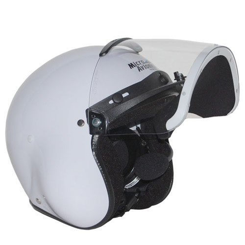 Microavionics MM001B Helmet with UL-100 Headset