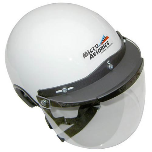 Microavionics MM020B Helmet with Visor SM