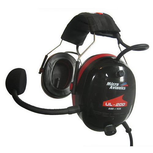 MicroAvionics MM001A Headset UL-200