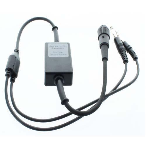 Microavionics MM016B Microlite to GA H/Set Jacks