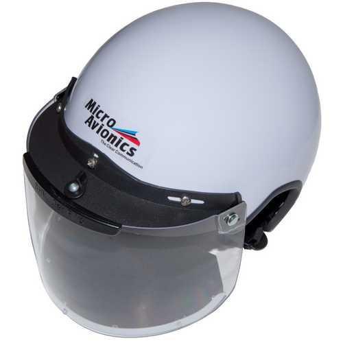 Microavionics MM020A-N Helmet.Visor & Neopr AD