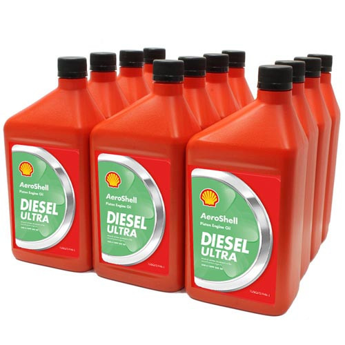 AeroShell Diesel Ultra - Case of 12 x 1 Litre Bottles