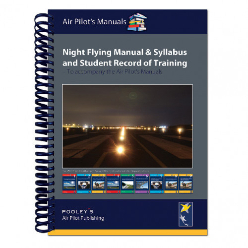 Pooleys - Night Flying Manual & Syllabus and student record of training