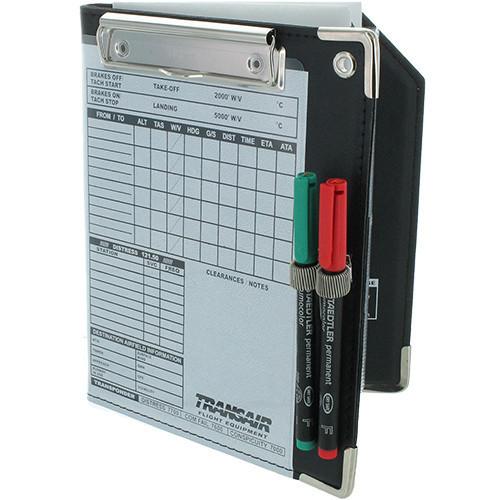 Transair Folding Organiser Kneeboard -  Black
