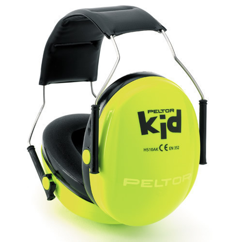 Peltor Kids Ear Defender - Yellow
