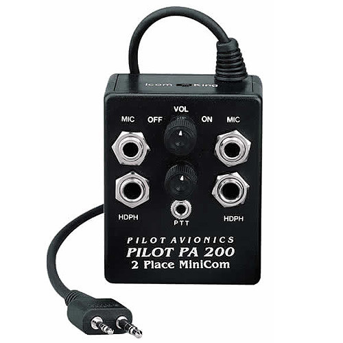 Pilot PA200-A24 Intercom For A6 OR A24