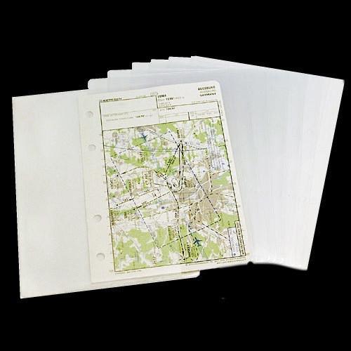 Design4Pilots Transparent Pockets for Profi Kneeboard (Pack of 10)