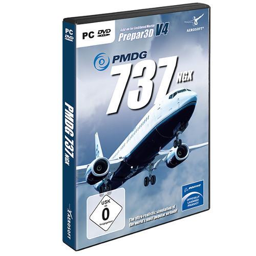 PMDG Boeing 737 NGX P3D V4 Cover