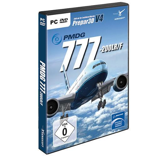PMDG Boeing 777-200LR/F P3D V4 Cover