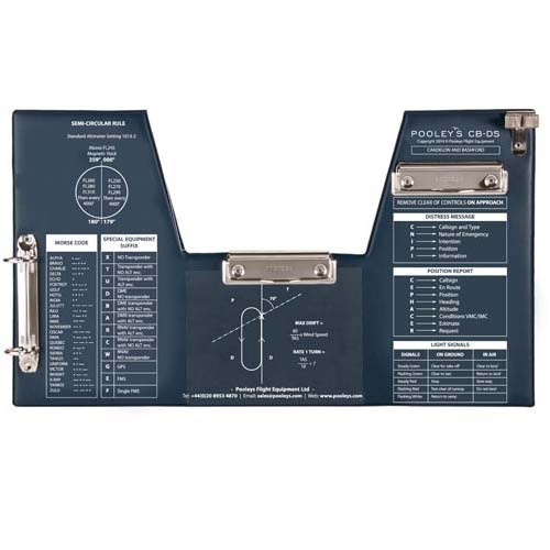 Pooleys CB-DS Flight board For stick Aircraft
