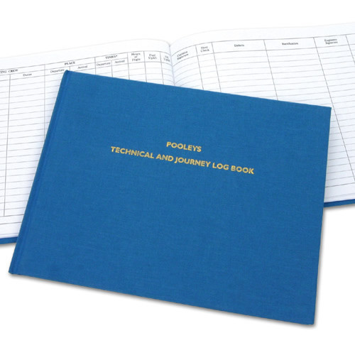 Logbook - Pooleys Aircraft Technical & Journey