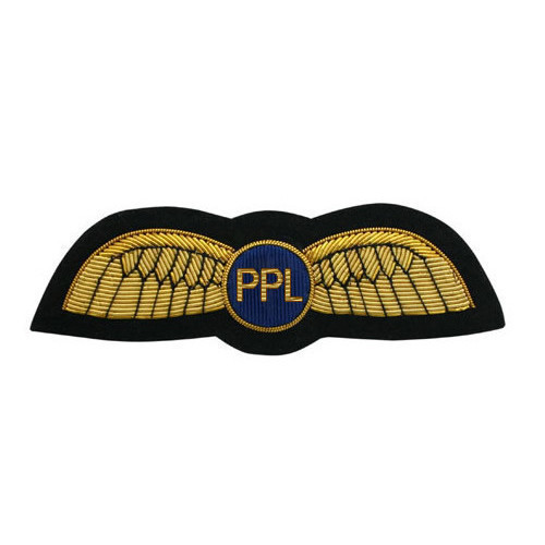 Pilot Uniform PPL Wings (PIN ON)