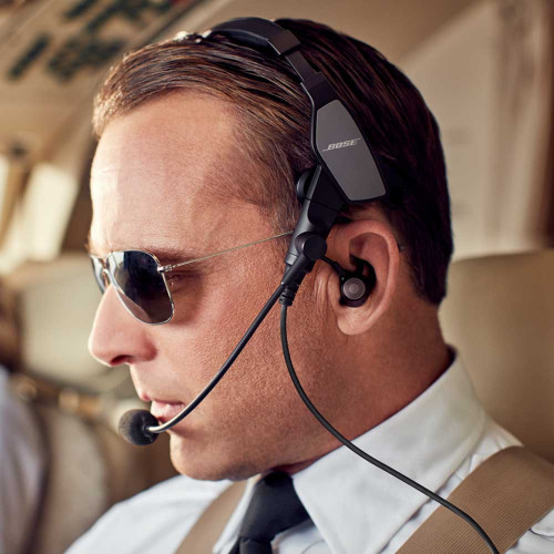 Bose ProFlight Series 2 Aviation Headset with Bluetooth Twin Plug