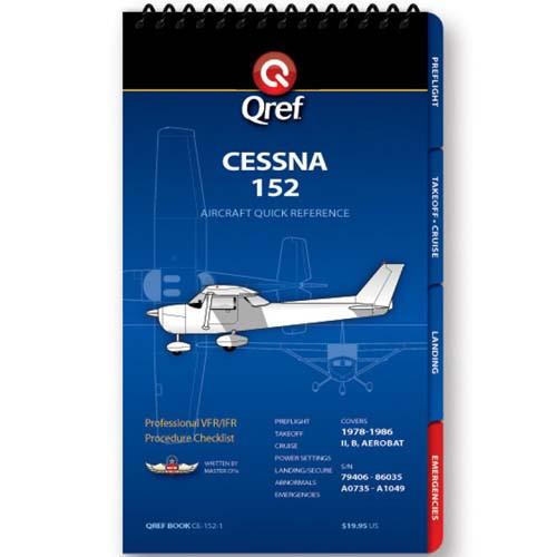 Cessna 152 Qref Checklist