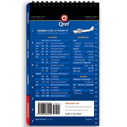 Cessna 172S Qref Checklist