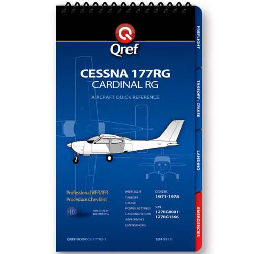 Cessna 177RG Qref Checklist