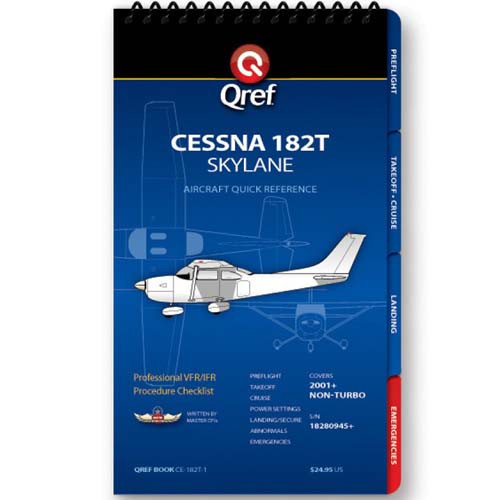 Cessna 182T Analog Qref Checklist