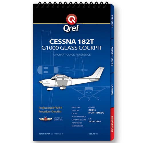 Cessna 182T/G1000 Qref Checklist