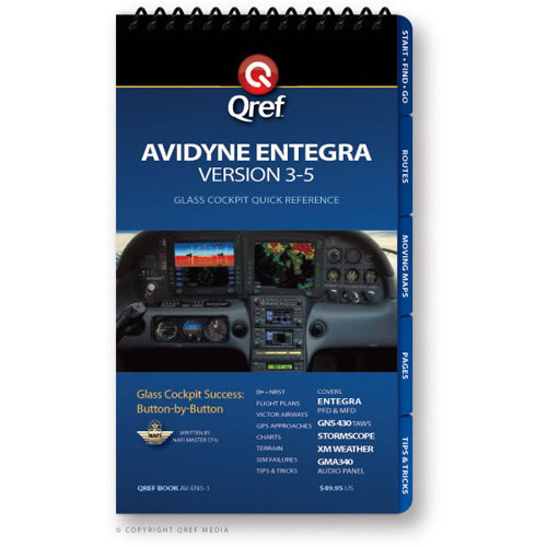 AVIDYNE ENTEGRA VERSION 3-5 GPG Checklist - QREF
