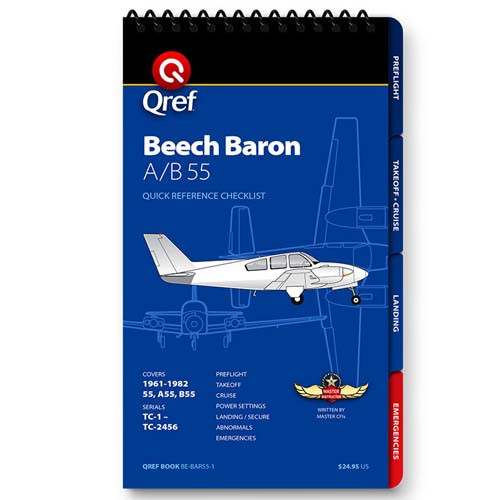 Beechcraft Baron A/B55 Qref Checklist