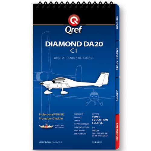 Diamond DA20 C1 Qref Checklist