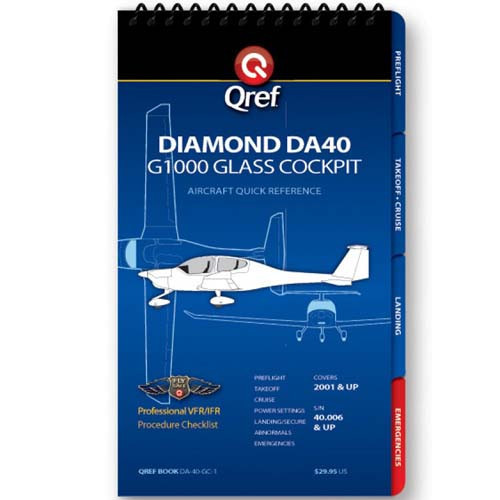 Diamond Star DA40 Qref Checklist