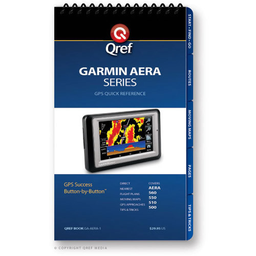 Garmin Aera ChecklistS - QREF