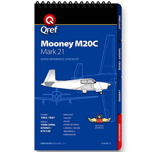 Mooney M20C Mark 21 Qref Checklist