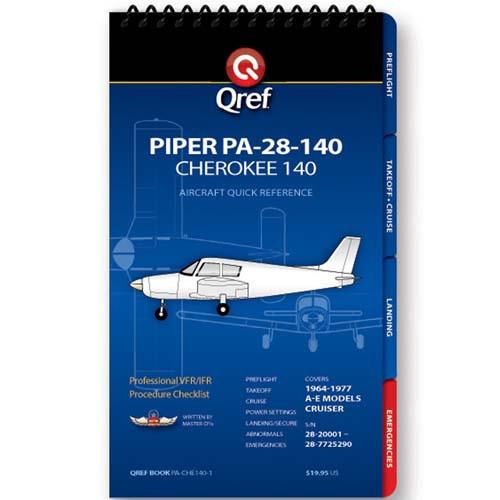 Piper Cherokee 140 PA-28-140 Qref Checklist