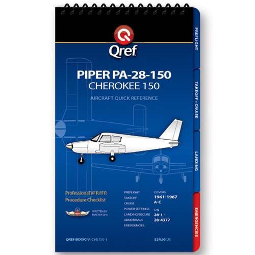 Piper Cherokee 150 PA-28-150 Qref Checklist