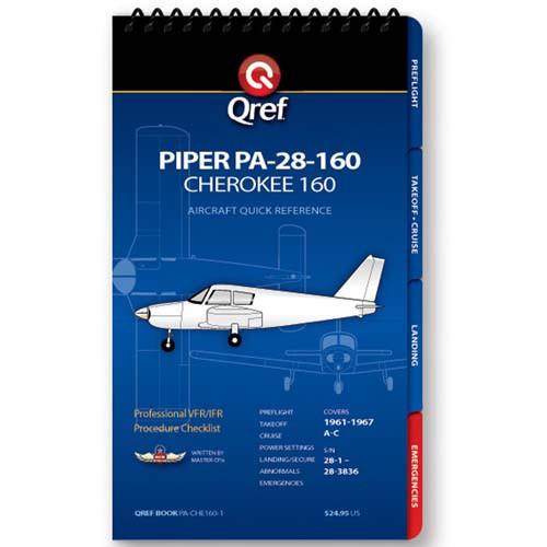 Piper Cherokee 160 PA-28-160 Qref Checklist