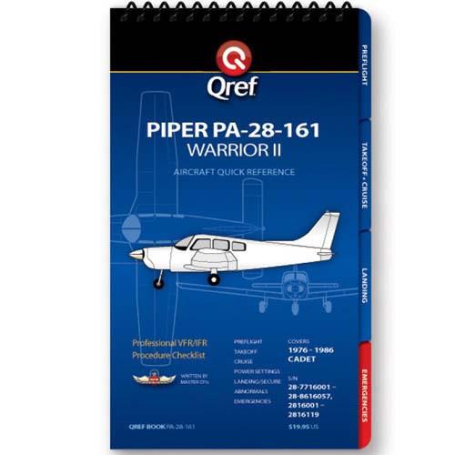 Piper Warrior II PA-28-161 Qref Checklist