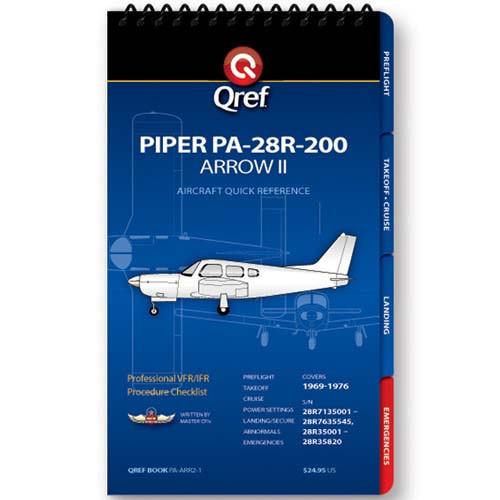 Piper Arrow II PA-28R-200 Qref Checklist