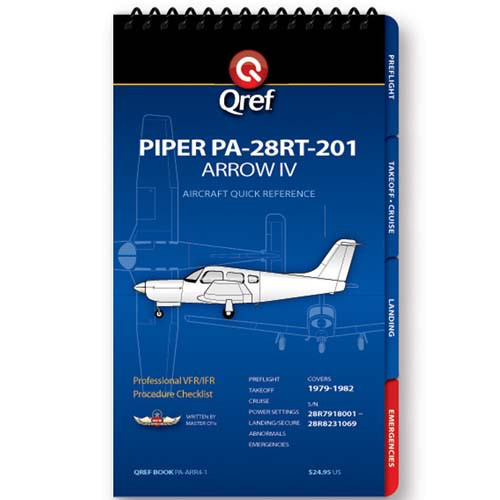 Piper Arrow IV PA-28RT-201 Qref Checklist