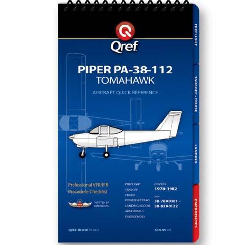 Piper Tomahawk PA-38-112 Qref Checklist