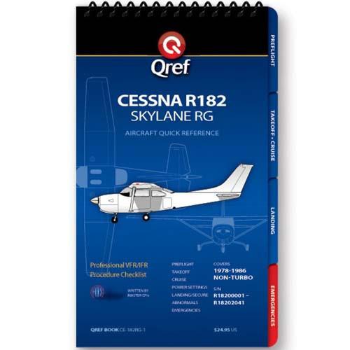 Cessna R182 Skylane RG Qref Checklist