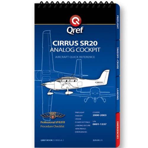 Cirrus SR20 Analog Qref Checklist