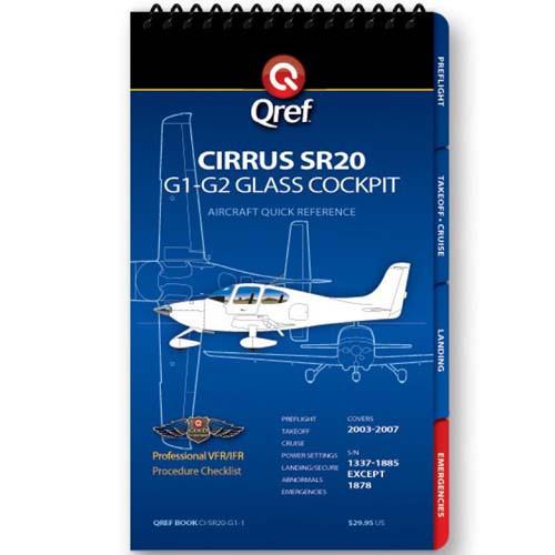 Cirrus SR20 G1-G2 Qref Checklist