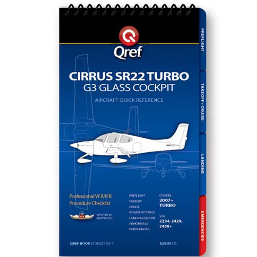 Cirrus SR22 G3 Turbo Qref Checklist