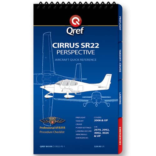 Cirrus SR22 Perspective Qref Checklist