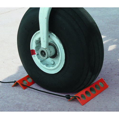 RED - Aluminium Chocks