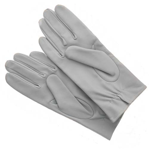 Raf Shorty Flying Gloves Leather Pearl