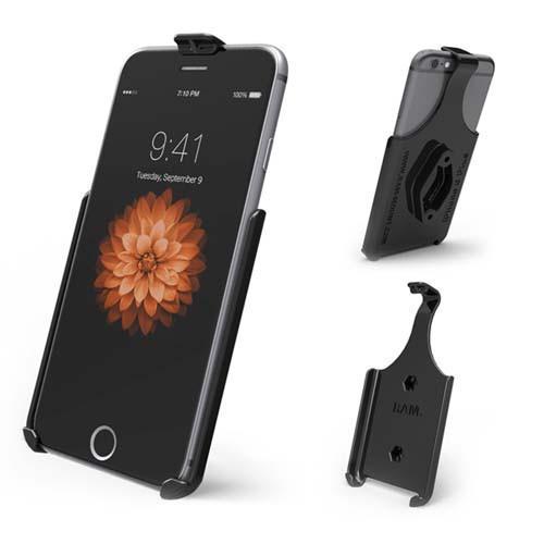 RAM Form-Fit Cradle for Apple iPhone XS Max, 7 Plus & 6 Plus