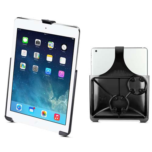 RAM EZ- Roll'r Cradle For Apple iPad 5th - 6th Gen, iPad Air 1 - 2 & Pro 9.7