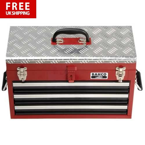 Aircraft Mechanic Tool Kit in Metal Step Case 154