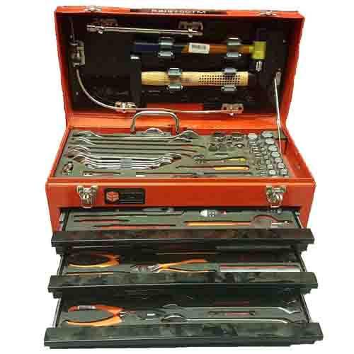Mechanics Metal Step Stool Case (193 Tools)