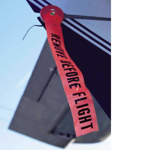 Remove before Flight Streamer