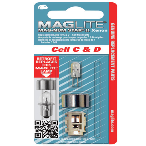 Maglite bulbs size 2 D- cell