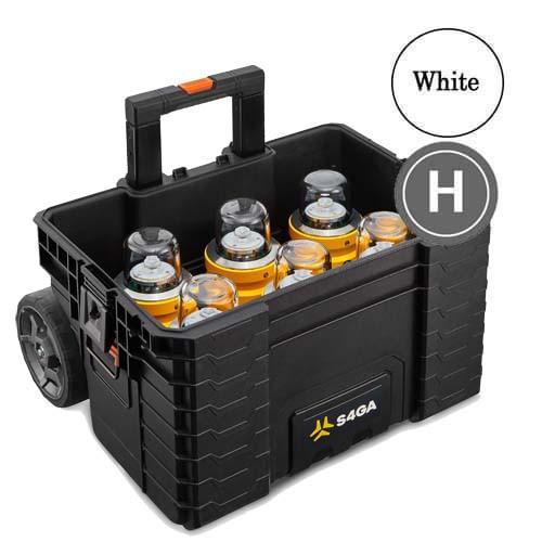 Helipad FATO Lights (Portable 6 Pack (White)